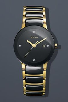 Rado Women's R30930712 Centric Jubile Two Tone Black Ceramic Bracelet Watch: http://watches.cybermarket24.com/rado-womens-r30930712-centric-jubile-two-tone-black-ceramic-bracelet-watch/