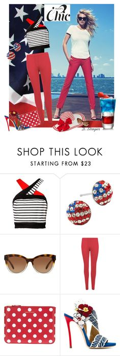 """""""Happy Fourth of July!!"""" by deborah-strozier ❤ liked on Polyvore featuring Michael Kors, WearAll, Comme des Garçons and Dsquared2"""