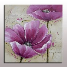 Home Decorative Picture Modern Flower Wall Art Abstract Flower Oil Painting On Canvas Unframed Hand Painted Home Decor Picture Oil Painting Flowers, Abstract Flowers, Oil Painting On Canvas, Abstract Paintings, Watercolor Flowers, Watercolor Art, Canvas Art, Painting Inspiration, Diy Art