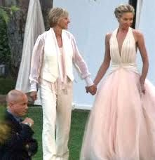 #Portia #de #Rossi #Wedding #Dress