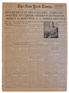 Hitler Dead - NYT