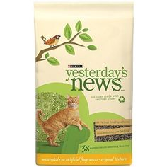 Did you know Purina Yesterday's News cat litter is a top recommendation of U.S. veterinarians? Yesterday's News is also their #1 recommended cat litter following surgery thanks to 99.7% dust-free, soft paper pellets that are gentle on sensitive paws and 3