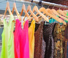 neons~sequins~prints~1st collection! :)