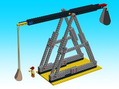 How To Build A Lego Trebuchet
