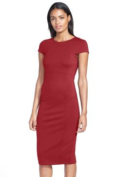 0cba8bb2714 This is Neeshas Nordstrom Dress in Purple! FELICITY   COCO Seamed Pencil  Dress (Nordstrom Exclusive) (Regular   Petite) available at