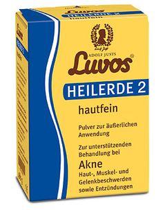 Luvos-Heilerde 2 hautfein @LuvosHeilerde  Pulver zur äußerlichen Anwendung Zur unterstützenden Behandlung bei Akne, Haut-, Muskel- und Gelenkbeschwerden sowie Entzündungen. Super zum Rühren toller Gesichtsmasken, die wirklich effektiv sind.