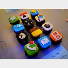IPhone Cupcakes:) | Food & Recipes