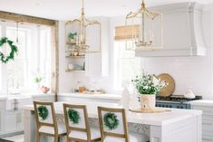 Repose Gray kitchen cabinets by Finding Lovely