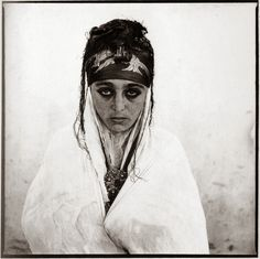 Mujeres argelinas (Femmes Algériennes) - Marc Garanger (1960).
