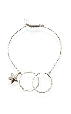 M'O Exclusive: 18K Yellow Gold  Diamond Pave Bracelet by Inez and Vinoodh for Preorder on Moda Operandi