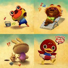 Animal Crossing Summer