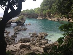 My third hike to Ague Cove in Dededo, Guam. Always worth the hike back up. Just look at the color if that water! <3