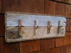 Driftwood Keyrack by Beach2Home on Etsy, $50.00