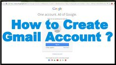 Creating a Gmail Account is not that difficult as you might think. With the help of a guide you can set up Gmail account in no time. Today, we'll play the role of that guide and help you in registering a new account in gmail. Keep reading to know the procedure on how to create an email account in Gmail.