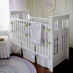 Wondrous Wisteria Baby Bedding from PoshTots