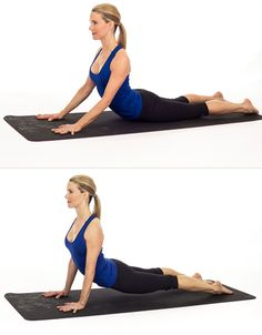 The Difference Between Cobra and Upward Facing Dog