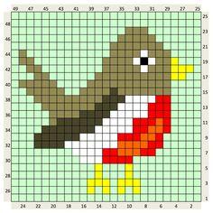Intarsia Knitting, Knitting Charts, Knitting Patterns, Crochet Patterns, Embroidery Applique, Cross Stitch Embroidery, Cross Stitch Patterns, Pixel Crochet, Crochet Chart
