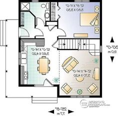 1st level Charming Country Style home with 3 bedrooms and open floor plan layout - Gaillon 1