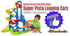 """Sorteo de Juego """"Super Pista Looping Cars"""""""