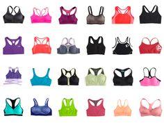 Some sport bras