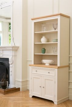 The Belvoir Dresser Painted In Cream From Kitchen Company