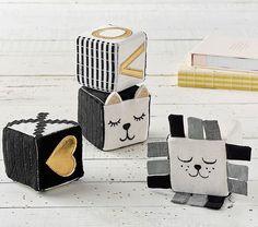 Emily & Meritt Kitty & Lion Blocks Set | Pottery Barn Kids