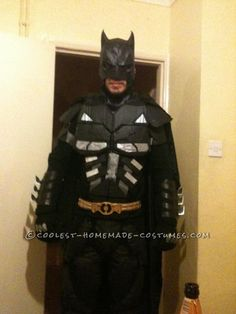 Cool Homemade Adult Batman Costume... This website is the Pinterest of costumes