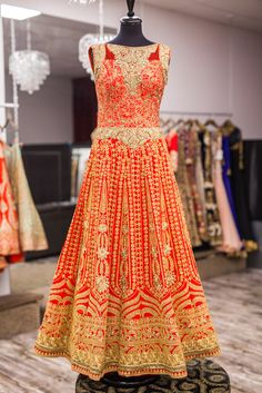 ahh perfect bridal anarkali!!