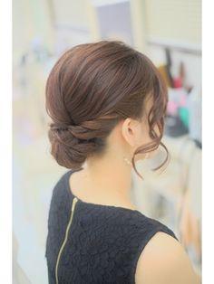 髪が短くてもできます!アップスタイル - 24時間いつでもWEB予約OK!ヘアスタイル10万点以上掲載!お気に入りの髪型、人気のヘアスタイルを探すならKirei Style[キレイスタイル]で。