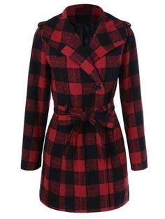 GET $50 NOW | Join RoseGal: Get YOUR $50 NOW!http://www.rosegal.com/coats/one-button-design-plaid-coat-908369.html?seid=7849858rg908369