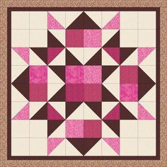 Half Square Triangle Quilts Pattern, Quilt Square Patterns, Barn Quilt Patterns, Pattern Blocks, Square Quilt, Quilting Patterns, Star Patterns, Top Pattern, Quilt Blocks Easy