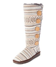 Look at this Vanilla Malena Slipper Boot on #zulily today!