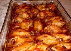 6 jednoduchých receptů z kuřecího masa - primanatura. Chicken Wings, Shrimp, Treats, Cooking, Recipes, Sweet Like Candy, Kitchen, Goodies