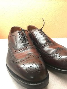 45df259651274 BROOKS BROTHERS Burgundy Wing Tip Brogues Oxfords Size 11 1 2 D Made In USA  NEW  fashion  clothing  shoes  accessories  mensshoes  dressshoes (ebay  link)