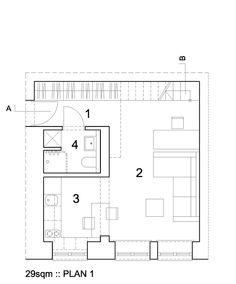 Лучшие дизайнерские находки - Комфорт на 29 кв. метрах: миф или реальность?