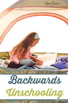 Backwards Unschooling - By Shelley Homeschool Curriculum, Catholic Homeschooling, Online Homeschooling, Homeschool Supplies, Life Learning, Learning Resources, Home Schooling, Elementary Schools, Preschool