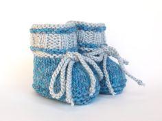Strick & Häkelschuhe - детская обувь и трикотаж - осень-зима толстая - дизайн кусок ellyshop на DaWanda