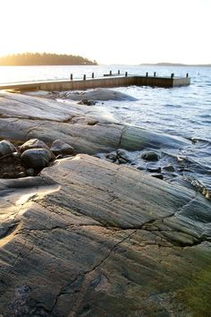 Sun over the Baltic sea in Turku Archipelago, Finland. Great tip for summer vacation in the North of Europe Helsinki, Finland Destinations, Summer Story, Am Meer, Baltic Sea, Archipelago, Strand, Seaside, Places To Go