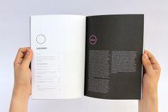 Identidades   Revista de expresiones culturales by Charlo Magno, via Behance