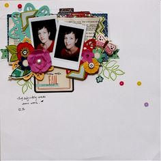 Ideas and Tutorials for Adding Dimension to Scrapbook Pages