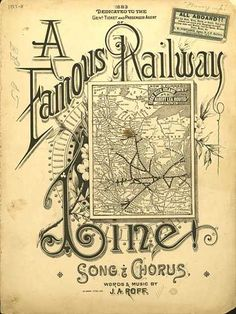 Sheet Music - A famous railway line