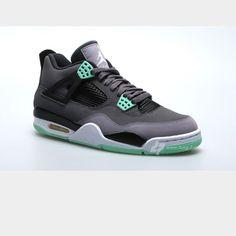 Jordans!! Green Glow 4s