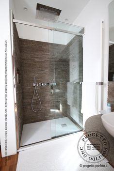 Rivestimento bagno con porfido segato e faccia a vista a spacco… posa a secco senza fuga… rivestimento di interni con pietra naturale e certificazione Ce