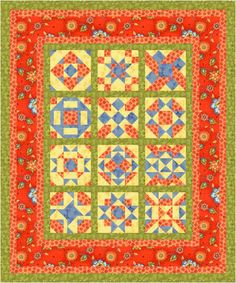 2006 Nine  Patch Nirvana Block of the Month Quilt Project
