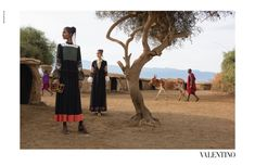 Photojournalist Stephen McCurry takes Valentino fans on an African journey with Spring 2016 campaign