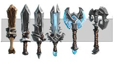 Weapons from Project Spark