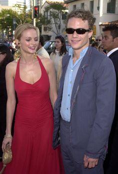 Pin for Later: Diese Stars waren mal ein Pärchen?! Heather Graham und Heath Ledger Heath und Heather führten 2000 eine kurze Beziehung.