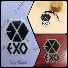 EXO Hama Beads By Deavildoll