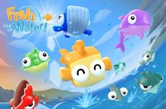 Fish Out Of Water: From HalfBrick, Skip these daredevil fish across the ocean
