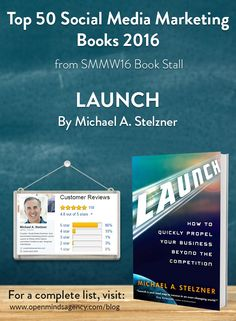 Top 50 Social Media Marketing Books 2016 - from SMMW16 Book Stall  Launch - Michael Stelzner For a complete list, [Click on image] #omagency #smmw16 #books